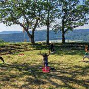 Viel Yoga-Glück im Frühsommer